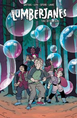 Lumberjanes: Vol. 11, Time after crime / written by Shannon Watters & Kat Leyh ; illustrated by Ayme Sotuyo