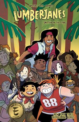 Lumberjanes: Vol. 17, Smitten in the stars / Shannon Watters & Kat Leyh ; illustrated by Kanesha C. Bryant ; created by Shannon Watters, Grace Ellis, Noelle Stevenson & Brooklyn Allen